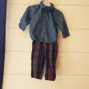 The children's place boy outfit